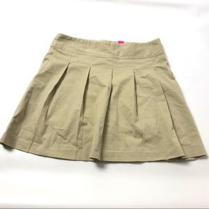Children's Place Scooter Skirt Size 16 Beige